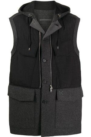 Kenzo Padded gilet style coat