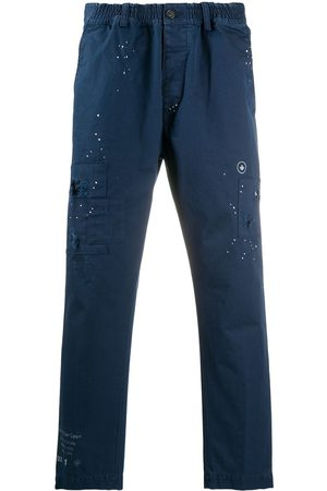 Dsquared2 Muži Chino - Distressed-effect chino trousers