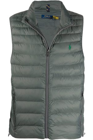 Polo Ralph Lauren Muži Vesty - Logo-embroidered quilted gilet