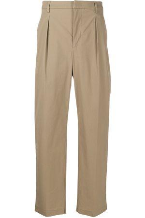 VALENTINO Darted straight-leg trousers