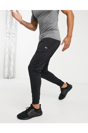ASOS Icon training skinny jogger with quick dry in black