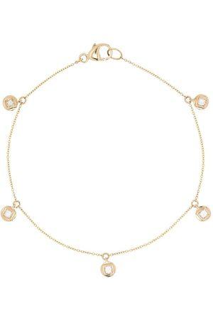 Dana Rebecca Designs Princess 14kt yellow gold diamond bracelet