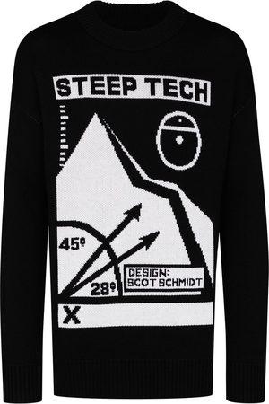 The North Face Intarsia-knit slogan jumper