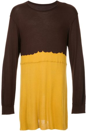 Comme Des Garçons Pre-Owned Two-tone knitted top