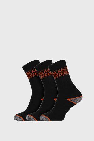 Black and Decker Muži Ponožky - 3 PACK pracovních ponožek