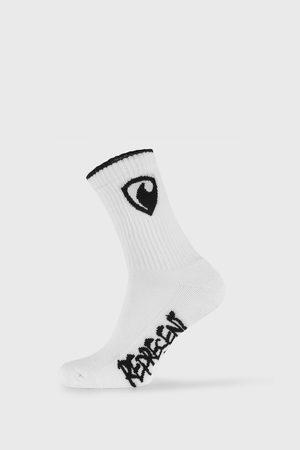 Represent Bílé ponožky Long