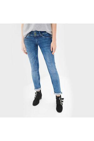 Pepe Jeans Ženy Kalhoty - Dámské modré džíny Vera