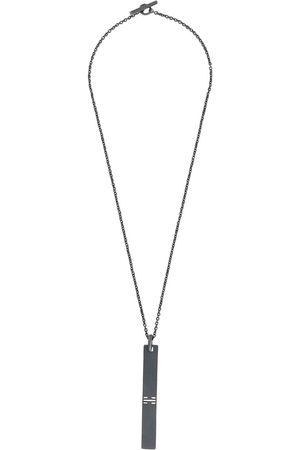 PARTS OF FOUR Plate pendant necklace