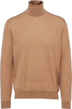 Prada Virgin wool high-neck jumper
