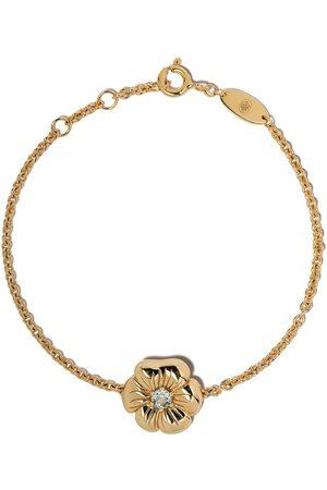 Aurélie Bidermann 18kt yellow gold topaz Bouquet bracelet