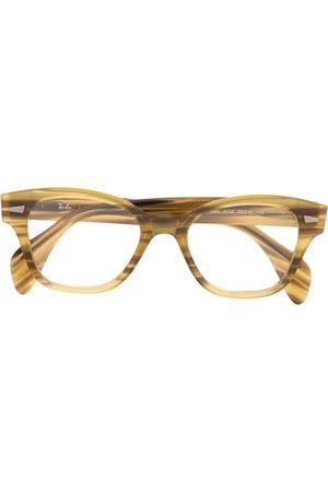 Ray-Ban Square tortoiseshell effect glasses