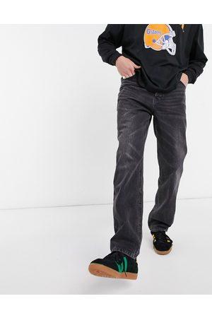 ASOS Dad jeans in vintage washed black