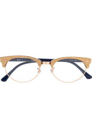 Ray-Ban Clubmaster oval optics glasses