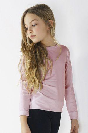 JADEA Dívčí tričko s dlouhým rukávem Star