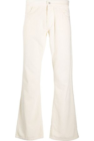 ERL Mid-rise corduroy flared trousers