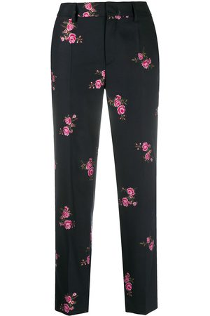 RED Valentino Flower jacquard tailored trousers