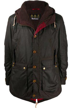 Barbour Muži Parky - Game waxed parka jacket