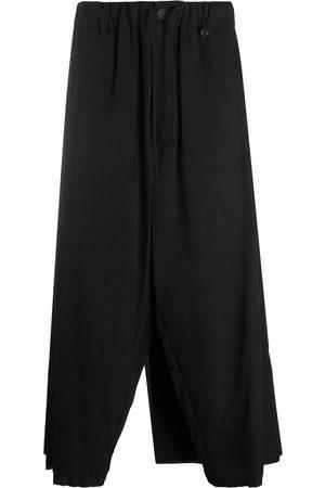 YOHJI YAMAMOTO Cropped wide-leg trousers