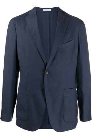 Boglioli Single-breasted tailored blazer