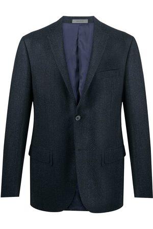 corneliani Checked single-breasted blazer