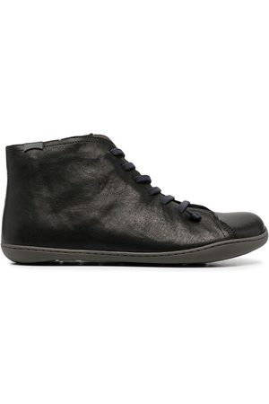 Camper Chunky lace-up leather boots
