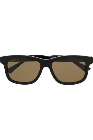 Gucci Logo square-frame sunglasses
