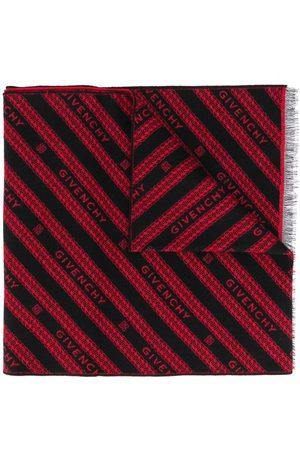 Givenchy Logo-stripe scarf