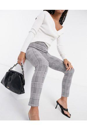 ASOS Skinny trouser in check jacquard-Multi