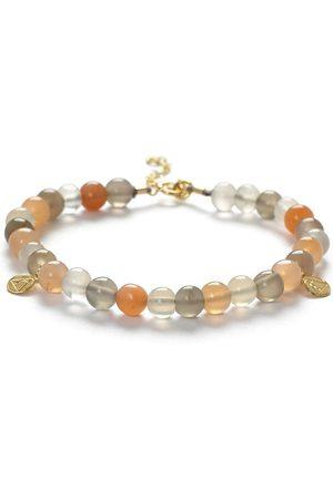 The Alkemistry Moon stone beaded bracelet