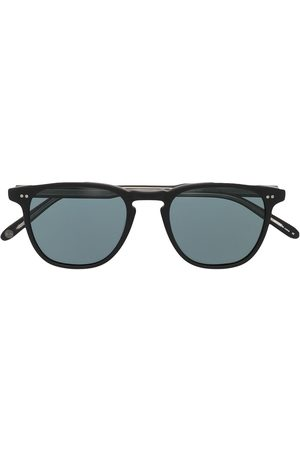 GARRETT LEIGHT Brooks round-frame sunglasses