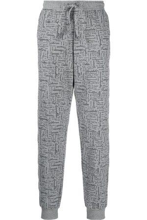 Viktor & Rolf Muži Pyžama - X Calida slogan-print pyjama trousers