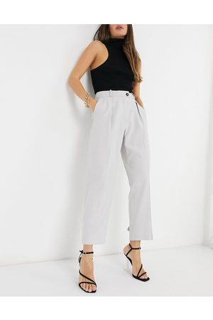 Topshop Slim trouser in grey