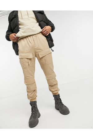 Sixth June Cargo trousers in beige