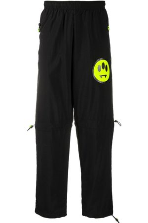 BARROW Logo print sweatpants