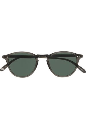 GARRETT LEIGHT Hampton round-frame sunglasses