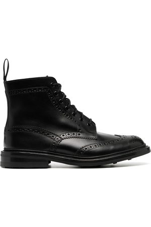 TRICKERS Brogue-detail ankle boots