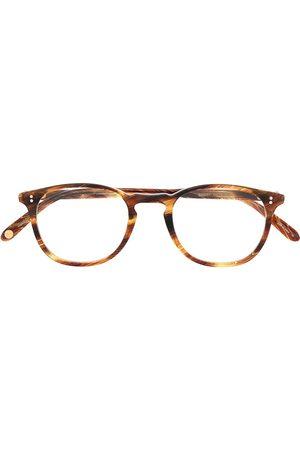GARRETT LEIGHT Sluneční brýle - Kinney round-frame glasses
