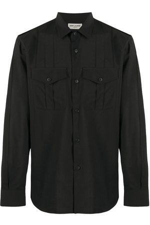 Saint Laurent Muži Košile - Wool military shirt