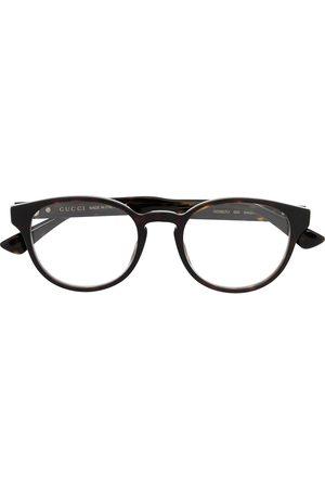 Gucci Sluneční brýle - Rounded frame glasses
