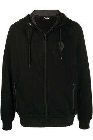 Karl Lagerfeld Muži Bombery - Drawstring hood bomber jacket