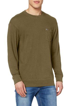 Tommy Hilfiger Pánské tričko s dlouhým rukávem