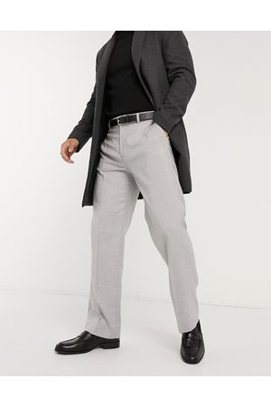 Topman Slim suit trouser in grey