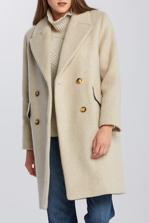 Gant Kabát D2. Oversized Wool Blend Coat