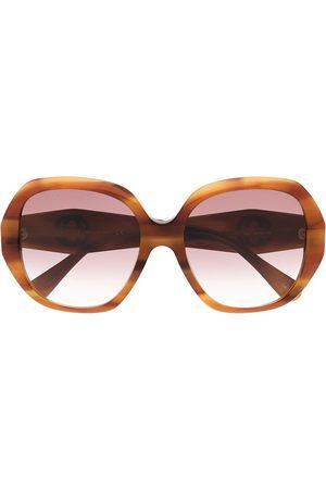 Gucci Tortoiseshell oversized sunglasses