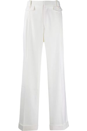 Casablanca Mid-rise straight trousers