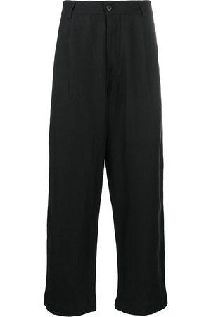 Evan Kinori Wide leg trousers