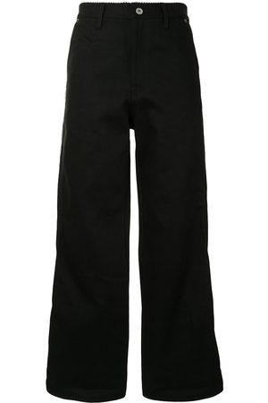 DOUBLET Exposed-seem straight leg jeans