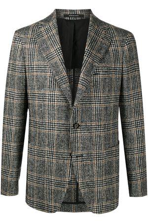 TAGLIATORE Plaid check blazer