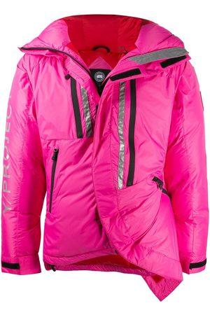 Y / PROJECT Asymmetric wrap padded coat