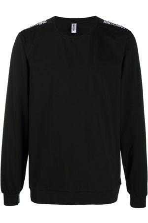Moschino Logo-tape shoulders lounge sweatshirt